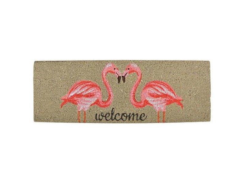 Clayre & Eef Deurmat flamingo
