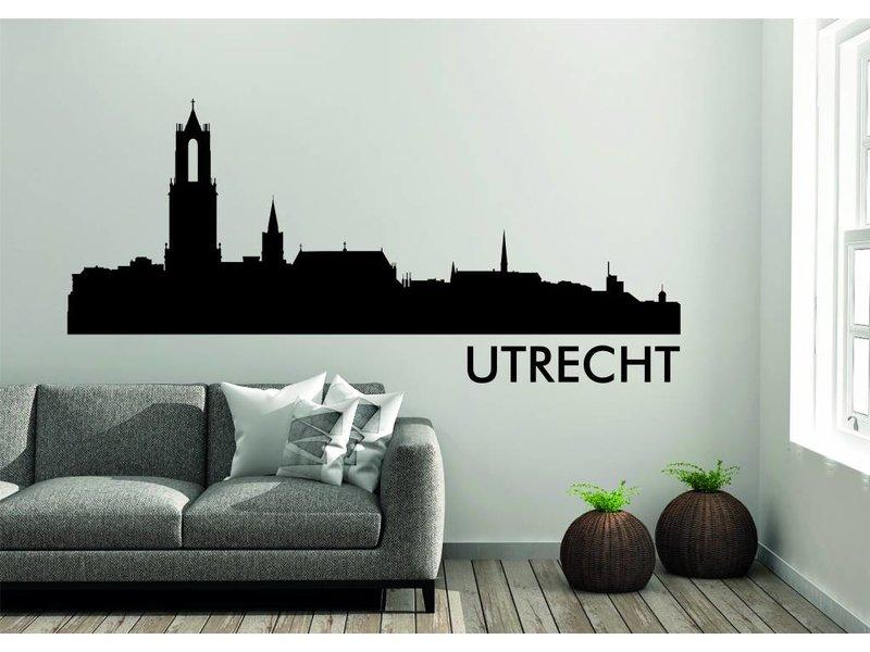 Utrecht  Skyline Muursticker