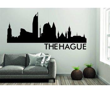 Den Haag  Skyline Muursticker