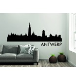 Antwerpen Skyline Muursticker