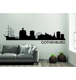 Gothenburg Skyline Muursticker