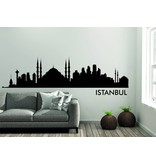 Istanbul Skyline Muursticker