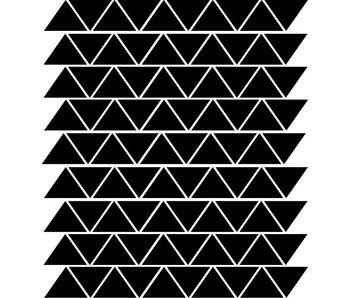 Muursticker driehoeken