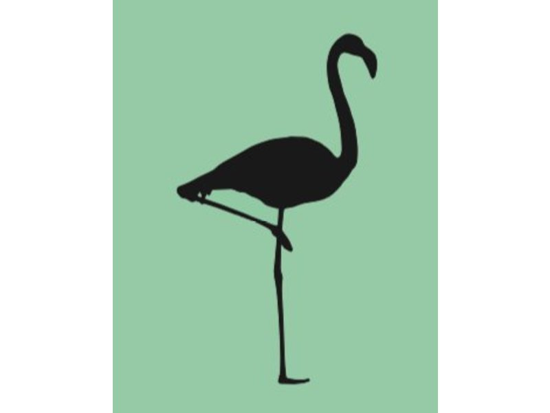 Flamingo Muursticker