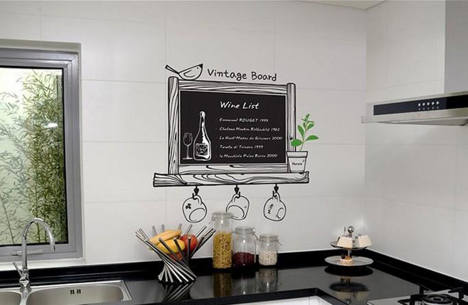 Gesneden tekst folie keuken kamer muursticker img plakhetzelf