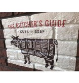 RoughMark Koe Sticker cuts of beef BBQ