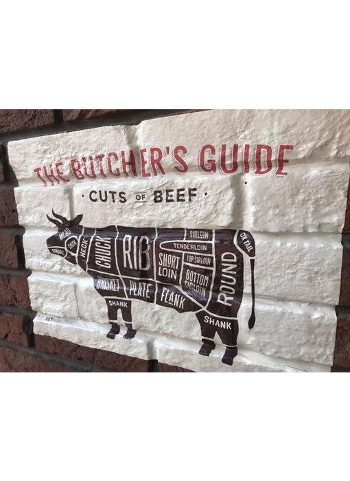 RoughMark Koe Sticker cuts of beef BBQ