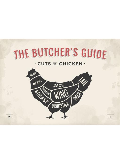 RoughMark Kip Sticker cuts of chicken BBQ