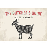 RoughMark Geit Sticker cuts of goat BBQ
