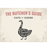 RoughMark Gans Sticker cuts of goose BBQ