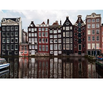RoughMark Sticker Amsterdamse grachten