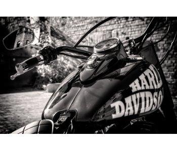 RoughMark Sticker vintage motor Harley