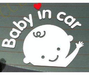 Autosticker baby aan boord