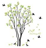 Muursticker limoenboom