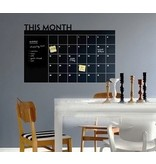 Schoolbordsticker maandplanner