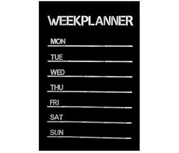 Schoolbordsticker weekplan