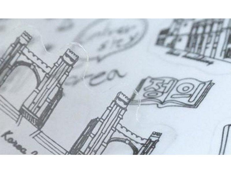 Glassticker steden