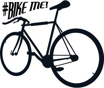 Bike Me muursticker
