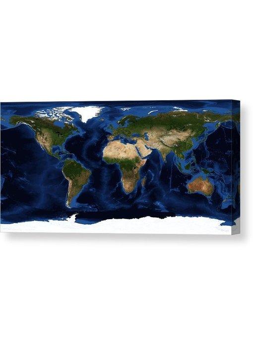 Versierendoejezo Topografie wereldfoto NASA