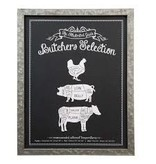 Versierendoejezo Tekstbord Butchers Selection