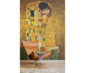 Muursticker The Kiss- Gustav Klimt