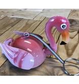 Flamingo hanger met springveer