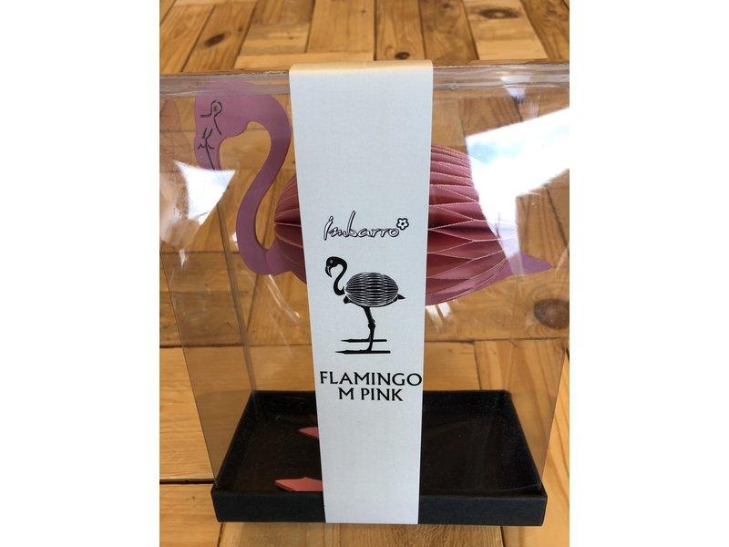 Imbarro Flamingo roze staand