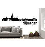Nijmegen Skyline Muursticker
