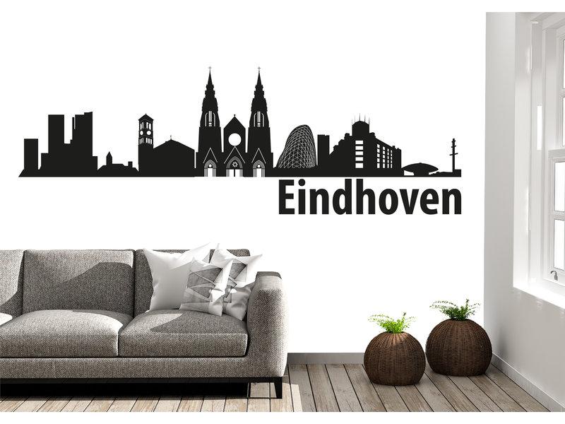 Eindhoven Skyline Muursticker