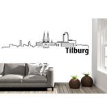Tilburg-skyline-muursticker 2