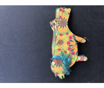 Only natural Slinger Papier Vogels gekleurd 3 meter