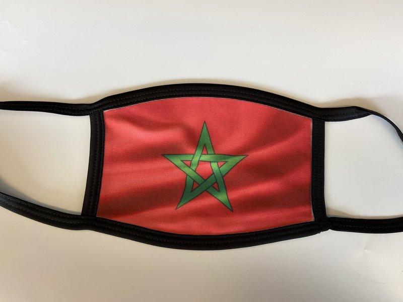 Mondmasker Vlag Marokko