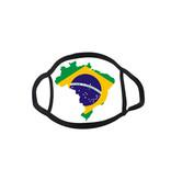 Mondmasker Vlag Brazilië