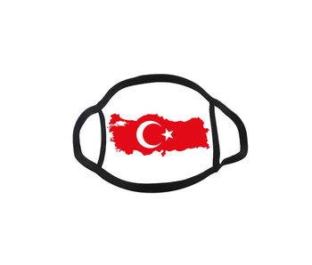 Mondmasker Vlag Turkije
