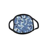 Mondmasker Camouflage Blauw