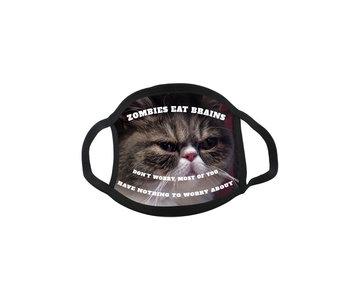 Mondmasker Meme Grumpy cat Zombie