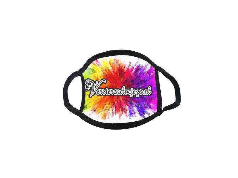 Versierendoejezo Mondkapje met logo