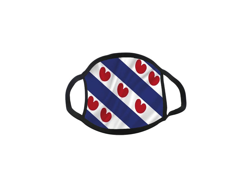 Mondmasker Vlag Friesland friese vlag