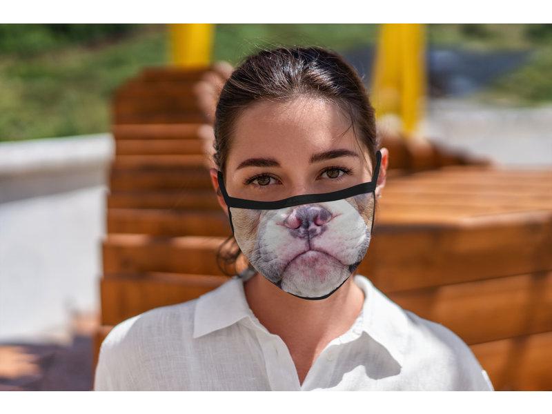Versierendoejezo Mondmasker hond wasbaar 90℃