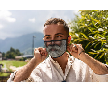 Versierendoejezo Mondmasker man met baard 2