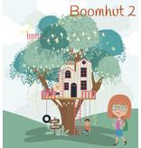 Treehouse / boomhut muursticker