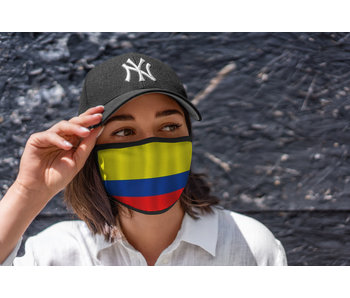 Mondmasker Vlag Colombia