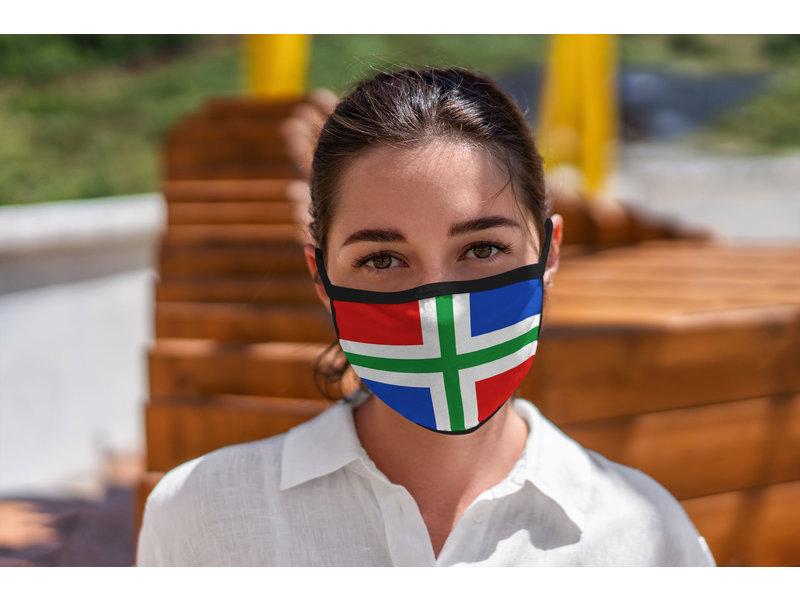Mondmasker Vlag Groningen Provincie