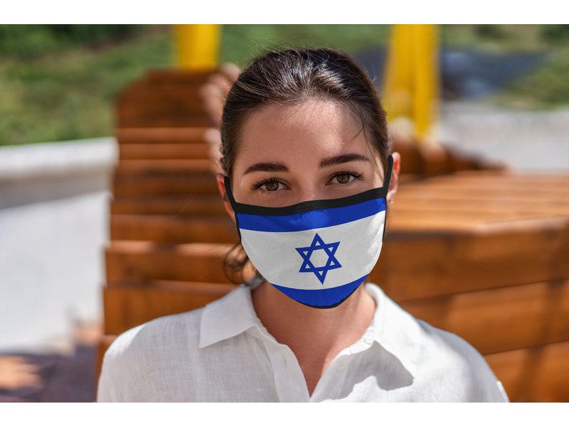 Mondmasker Vlag Israel