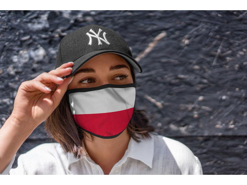Mondmasker Vlag Polen