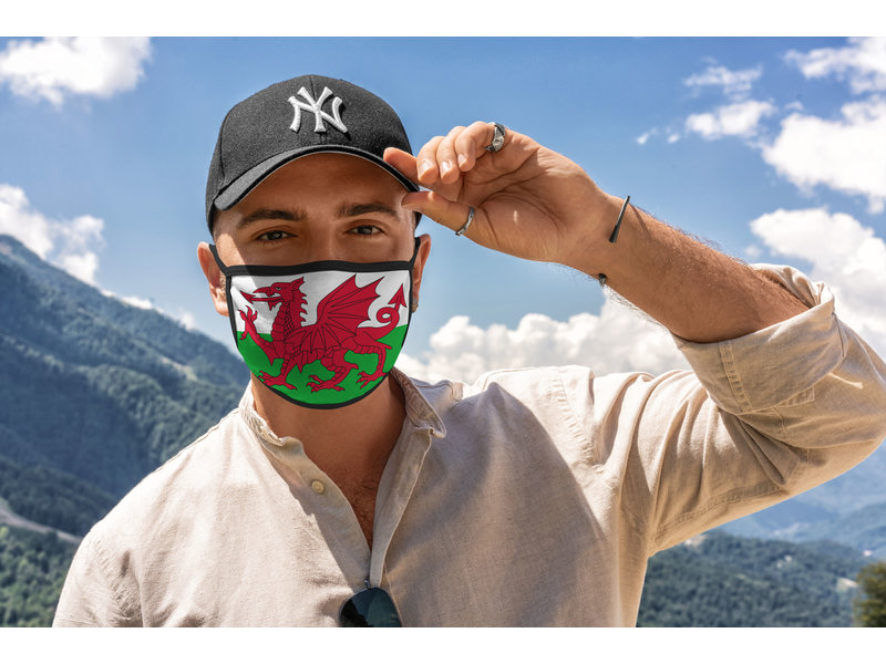 Mondmasker Vlag Wales