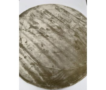Rocaflor Vloerkleed viscose 250cm Sage Saliegroen