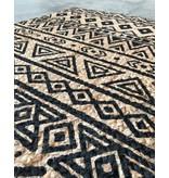 Rocaflor Vloerkleed jute & Grafische print 160x230cm