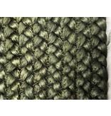 Rocaflor Vloerkleed jute bosgroen ø120 cm
