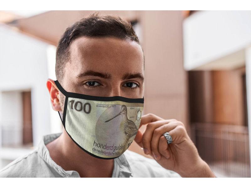 Mondmasker 100 gulden biljet